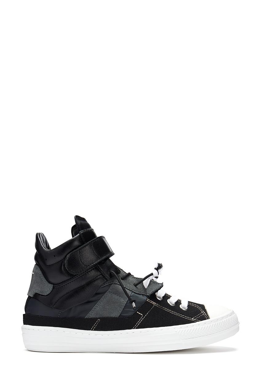 мужские кроссовки maison margiela, черные