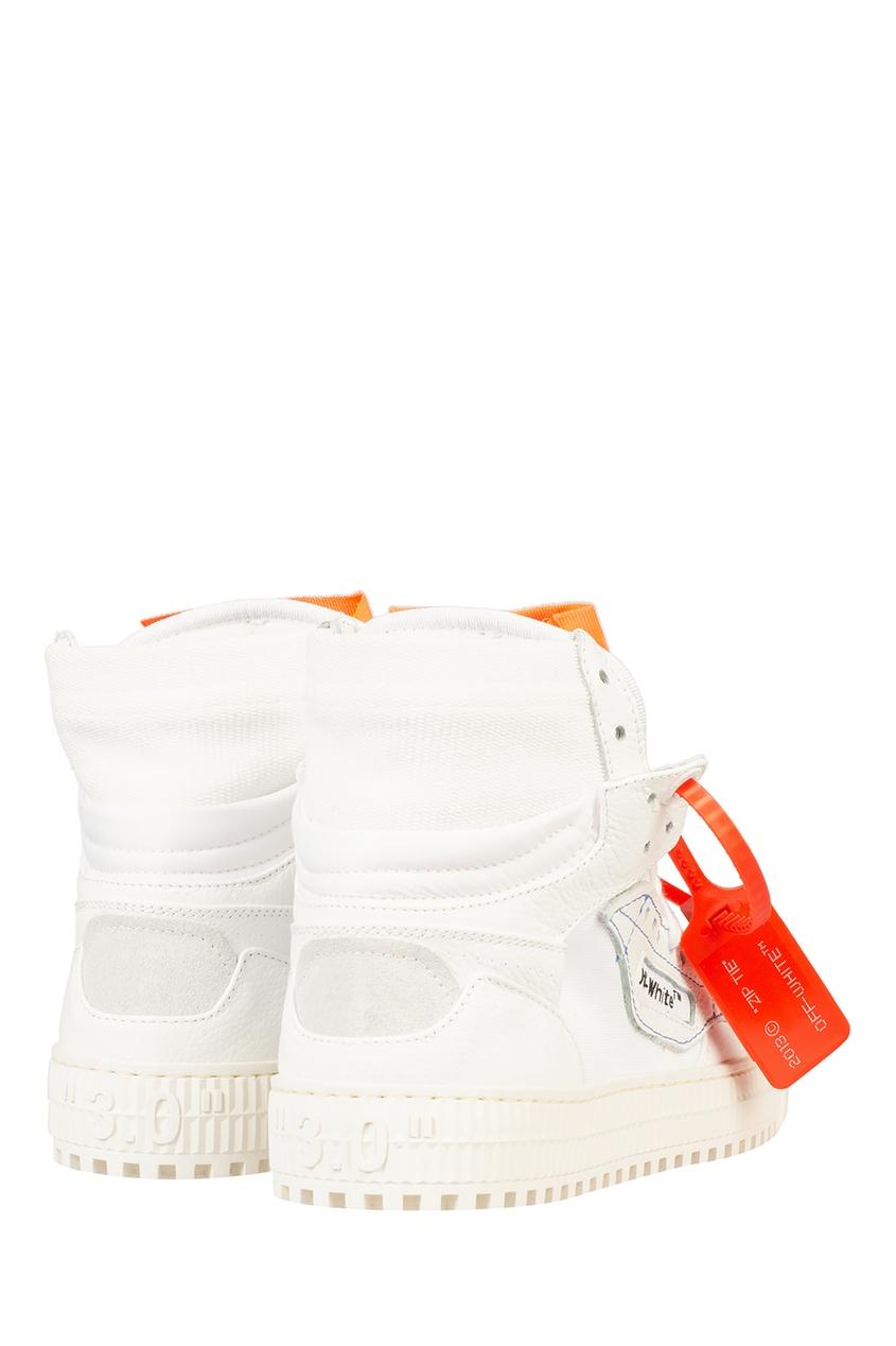 Фото 3 - Хайтопы Off-Court 3.0 с контрастной отделкой белого цвета