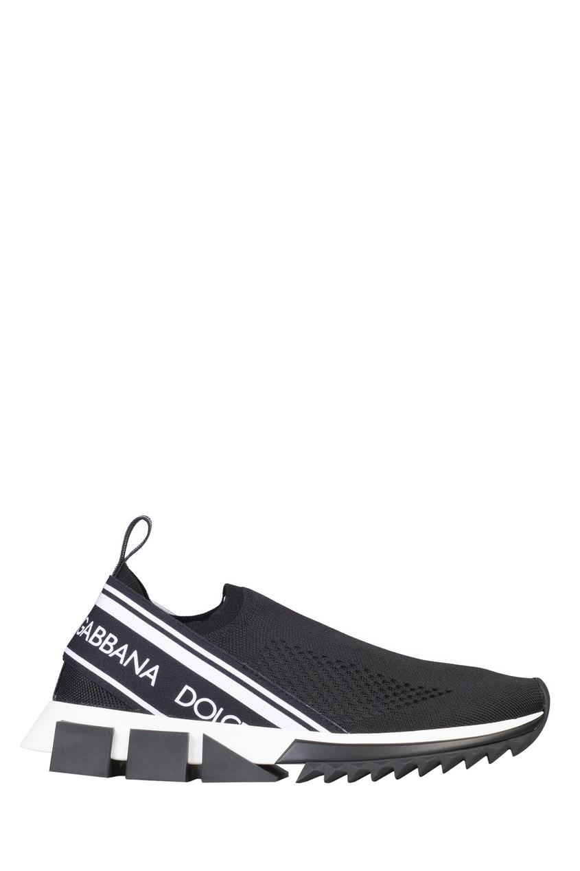 мужские кроссовки dolce & gabbana, черные