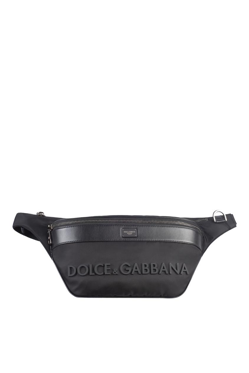 мужская сумка dolce & gabbana, черная