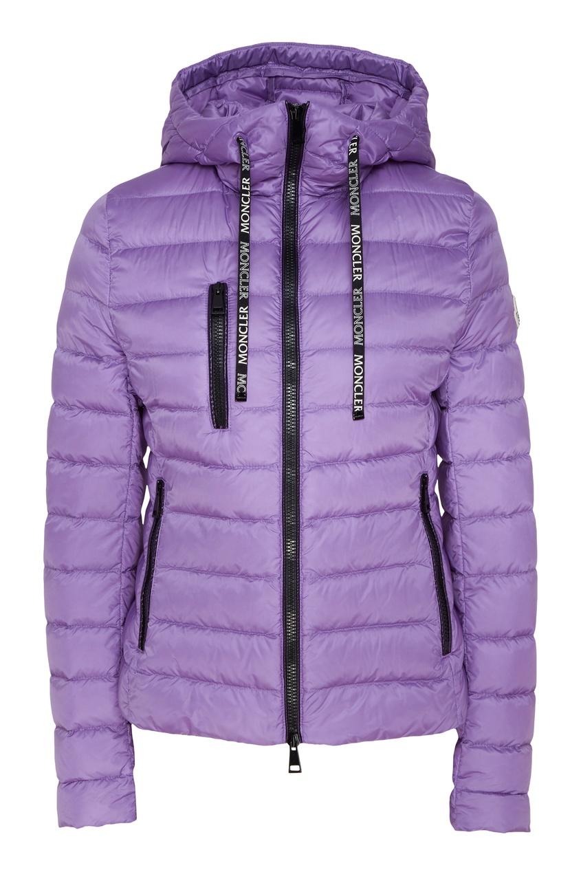 Сиреневая куртка-пуховик Seoul Moncler