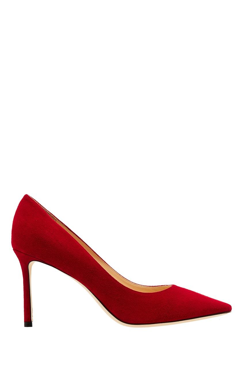 женские туфли jimmy choo, красные