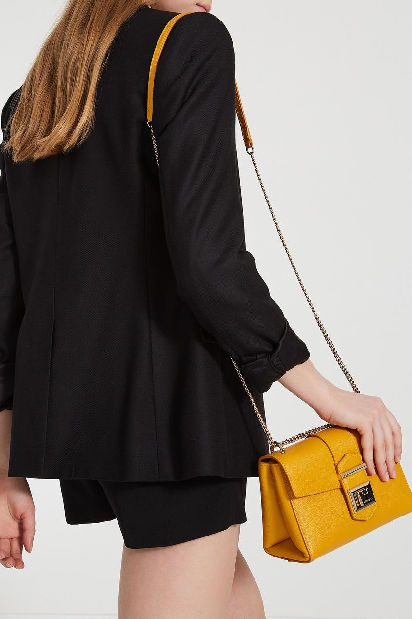 женская сумка jimmy choo, желтая