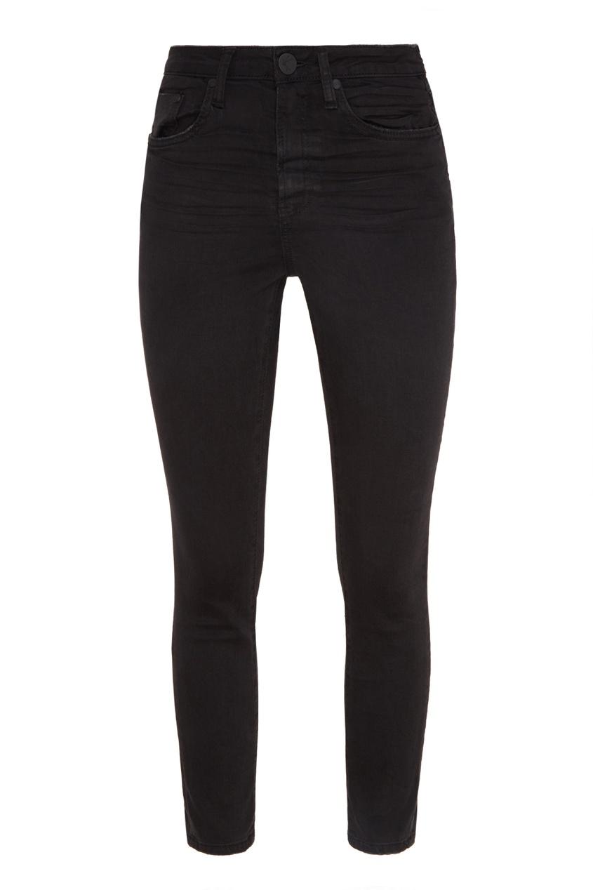 Фото - Черные джинсы средней посадки от One Teaspoon черного цвета