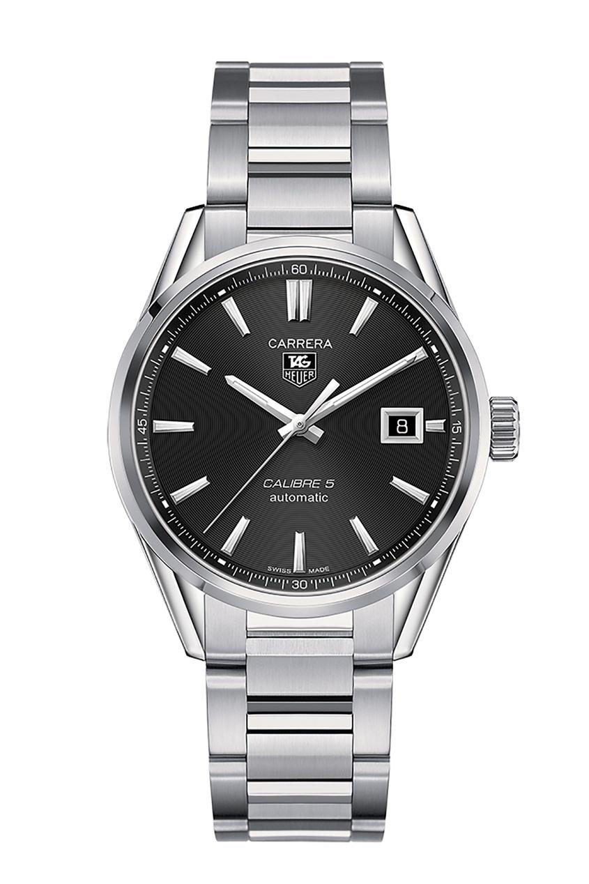 Купить CARRERA Calibre 5 Автоматические мужские часы с черным циферблатом цвет без цвета