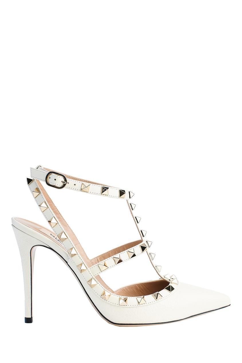 женские туфли valentino, бежевые