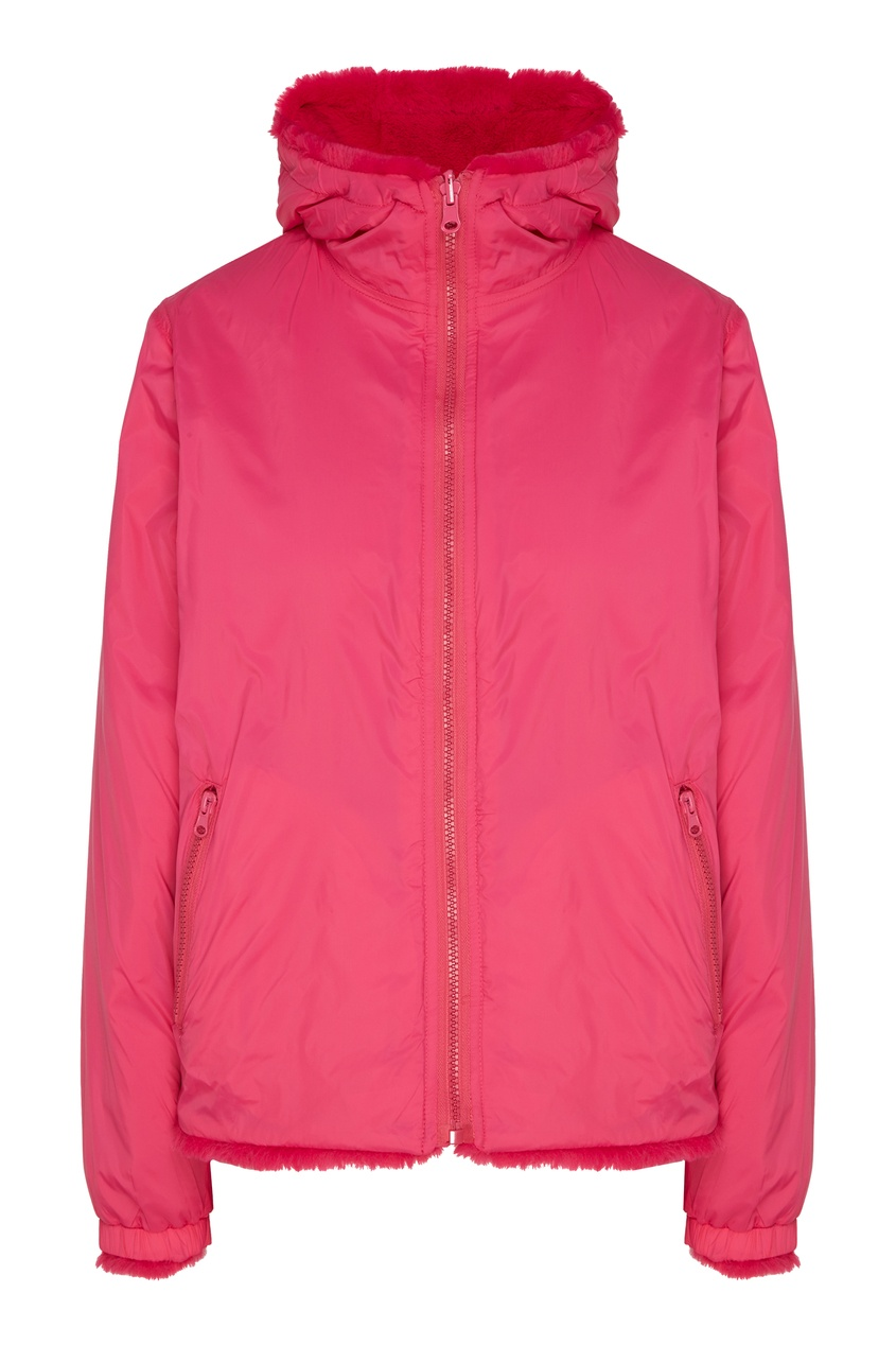 женская куртка p.a.r.o.s.h, розовая