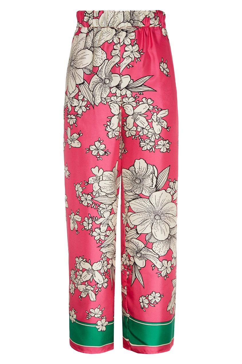 женские брюки p.a.r.o.s.h, розовые