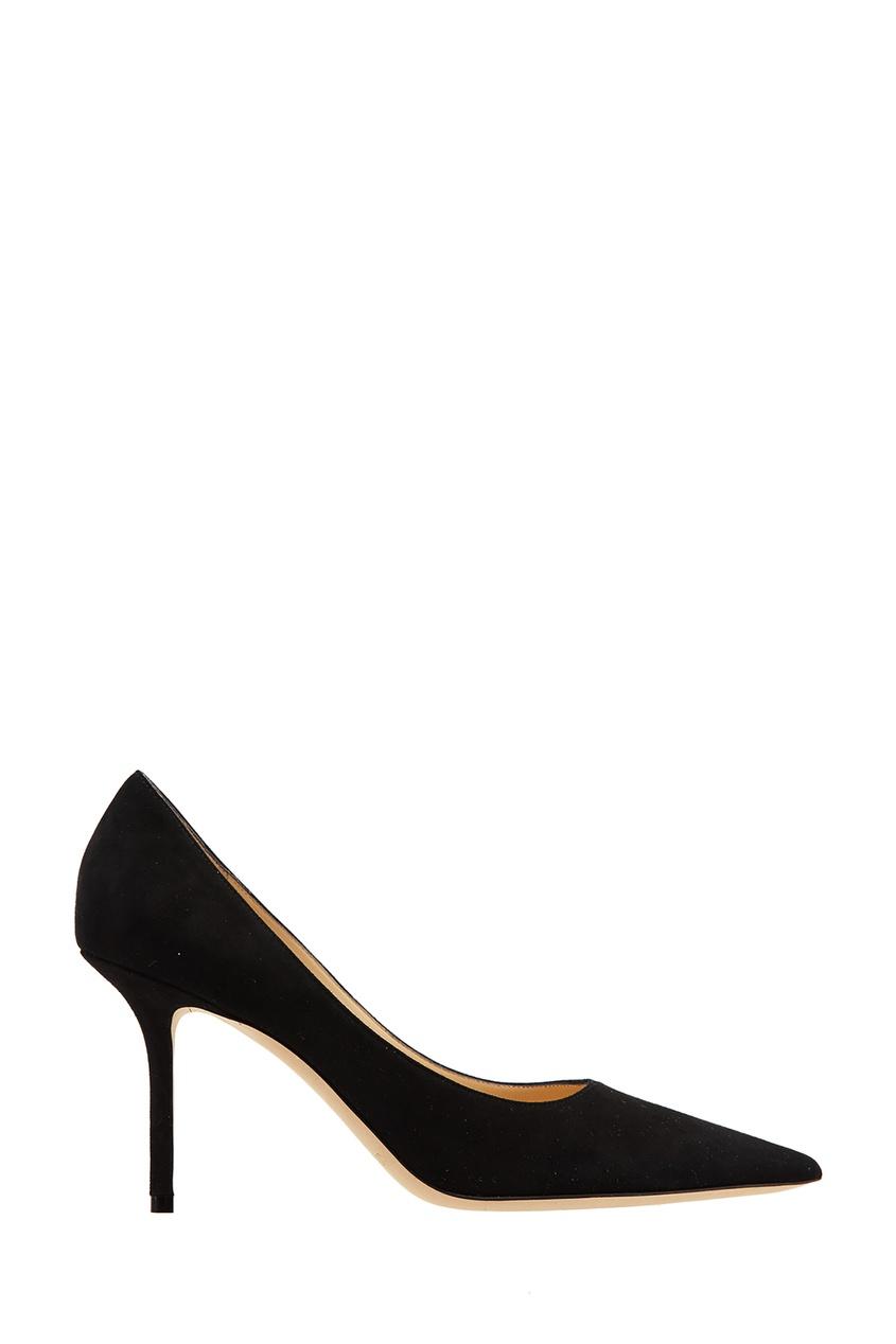 Черные замшевые туфли Love 85 Jimmy Choo