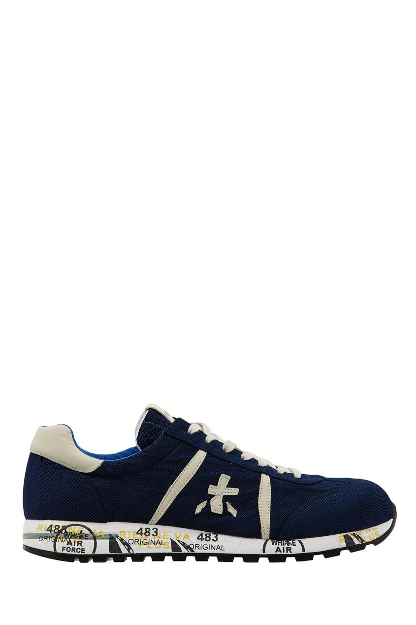 мужские кроссовки premiata, синие