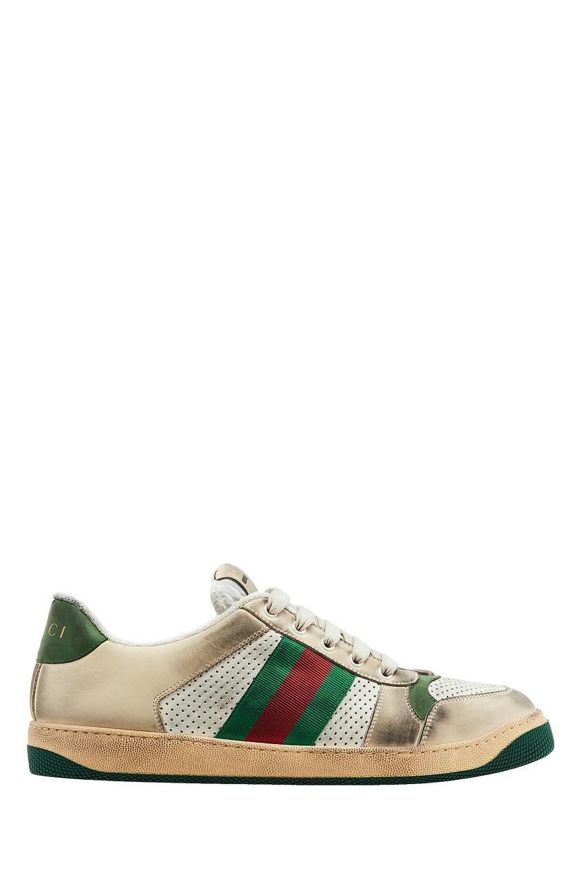 мужские кроссовки gucci man