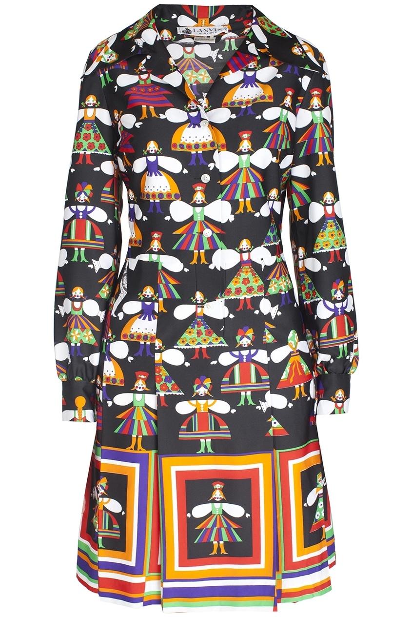 Шелковое платье (70-e)