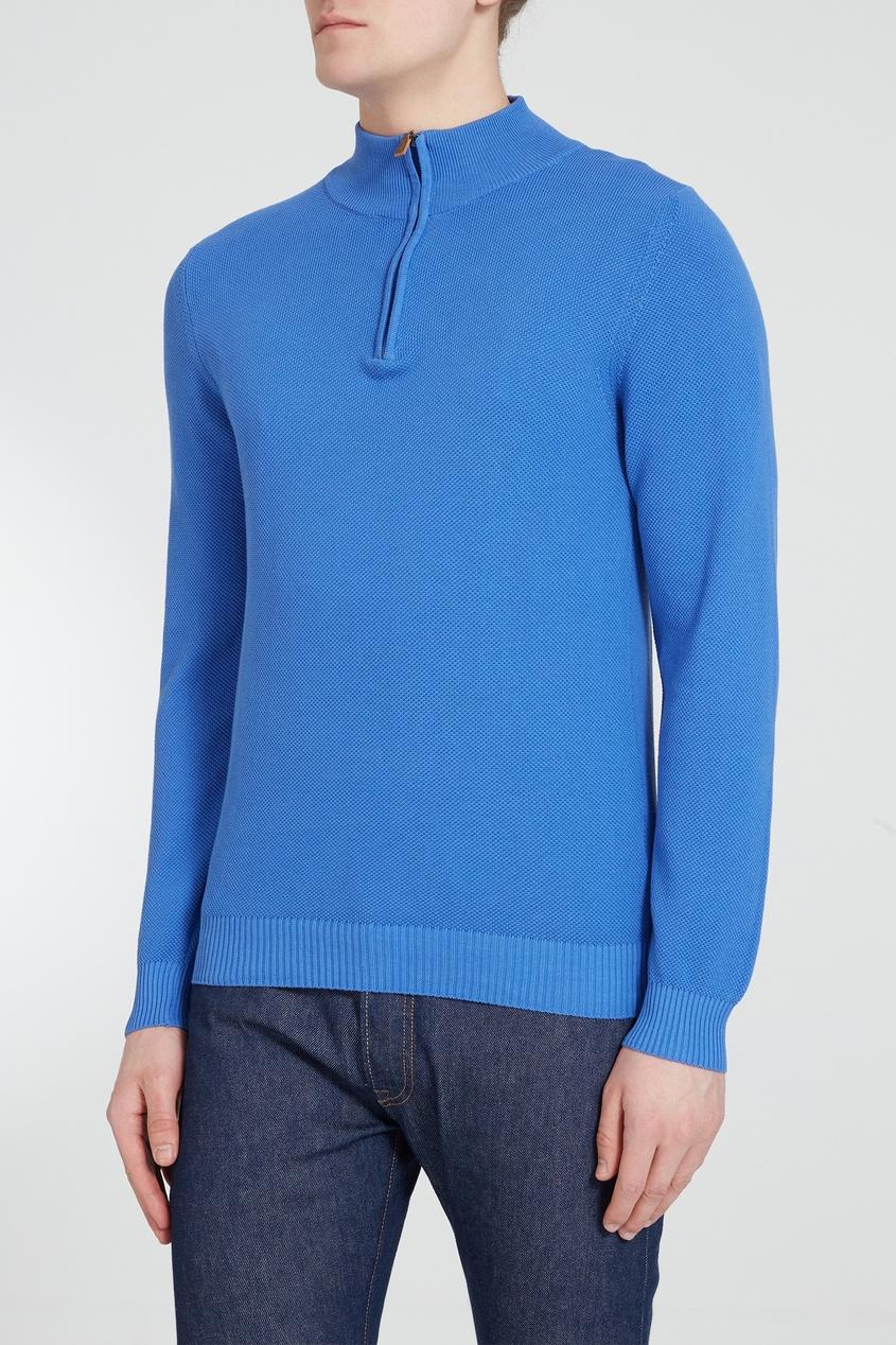 мужской свитер van laack, синий