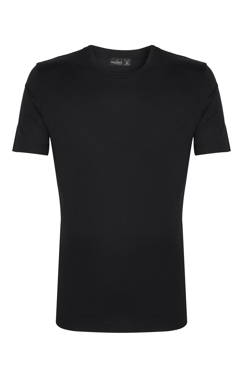 мужская футболка van laack, черная