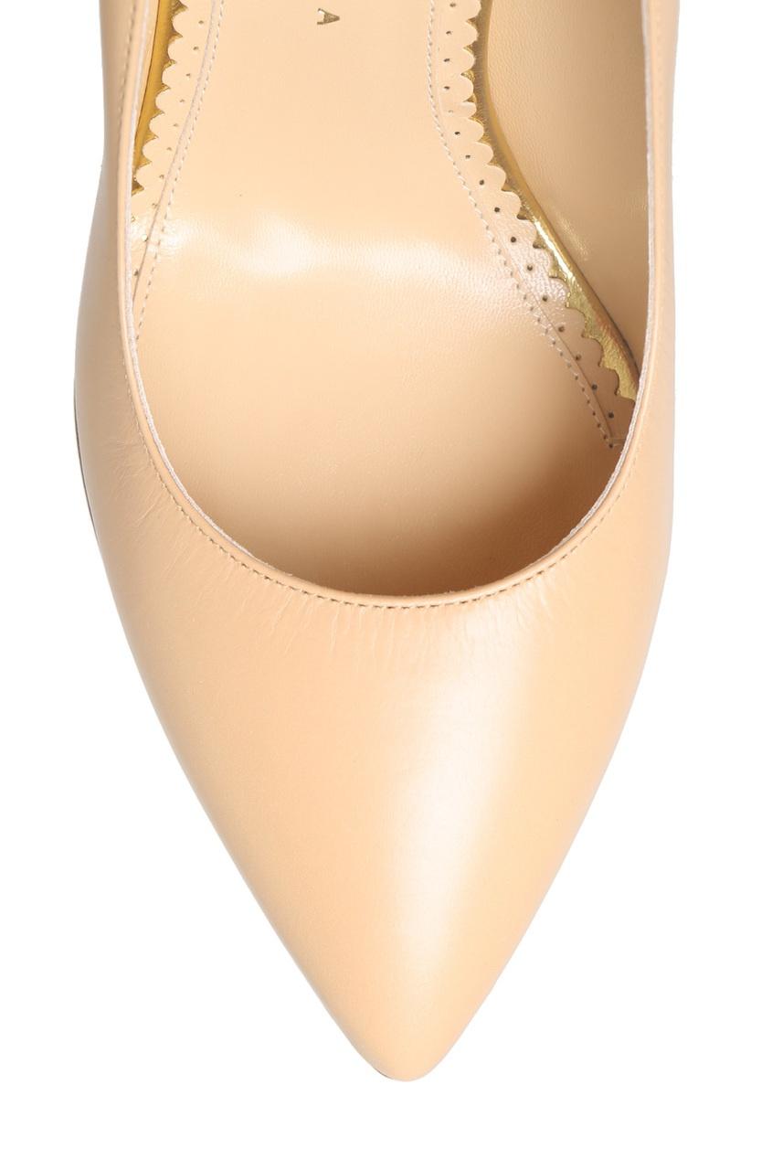 Кожаные туфли Monroe