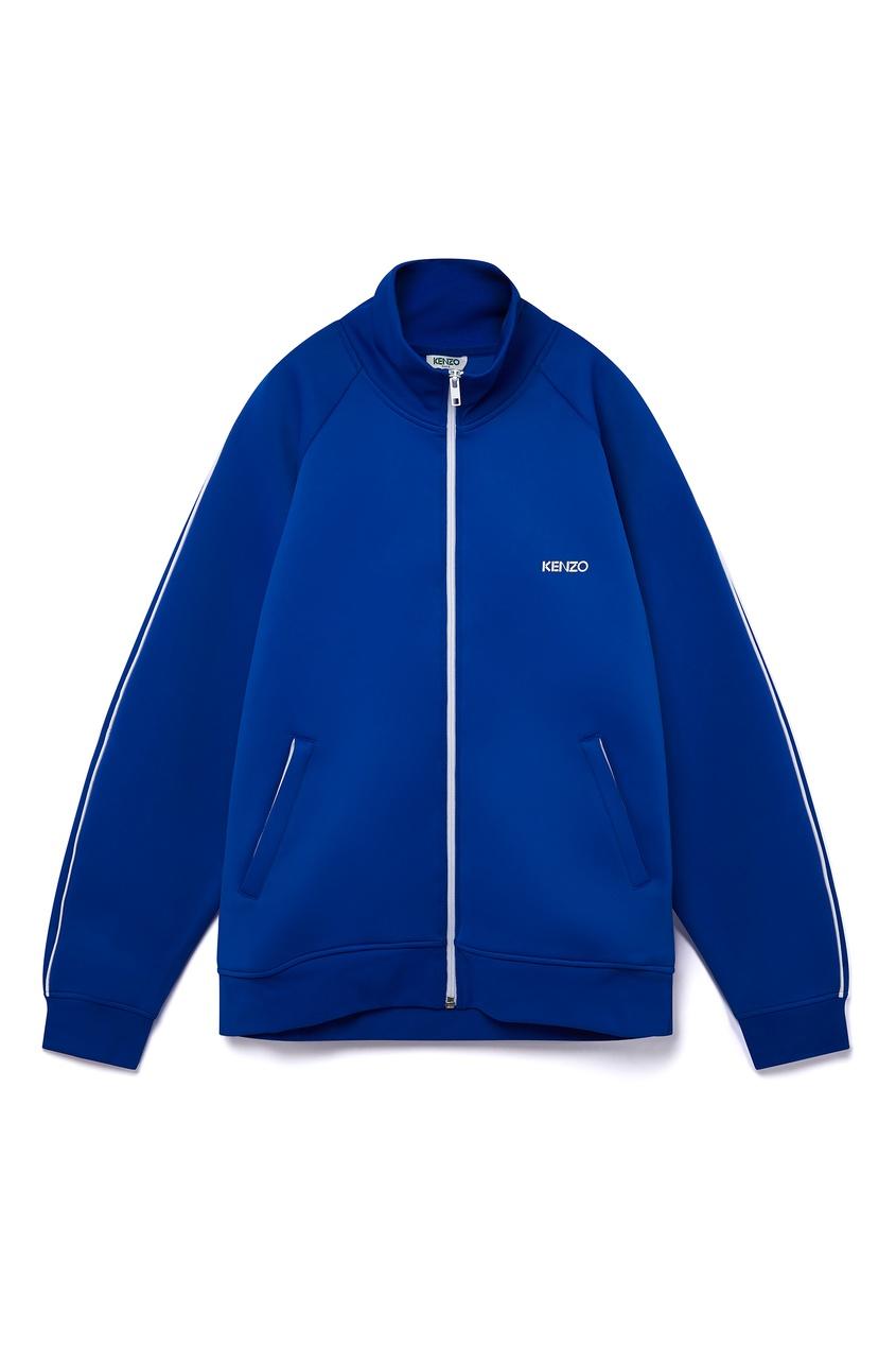 мужская олимпийка kenzo, синяя