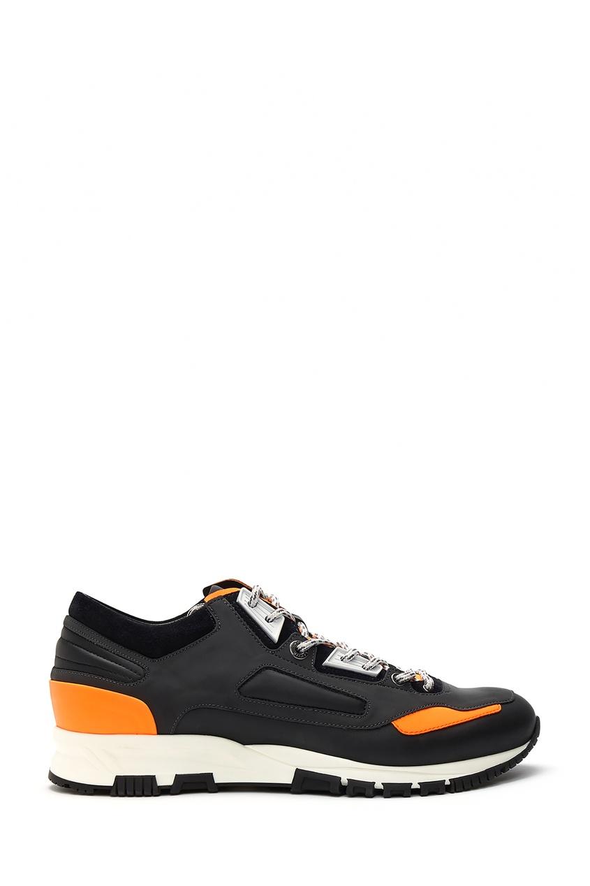 мужские кроссовки lanvin, серые