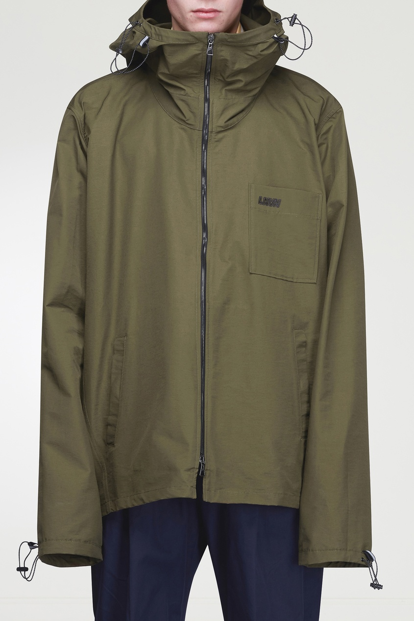 мужская куртка lanvin, зеленая