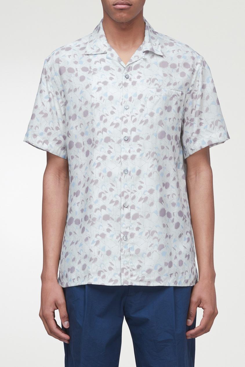 мужская рубашка lanvin, белая
