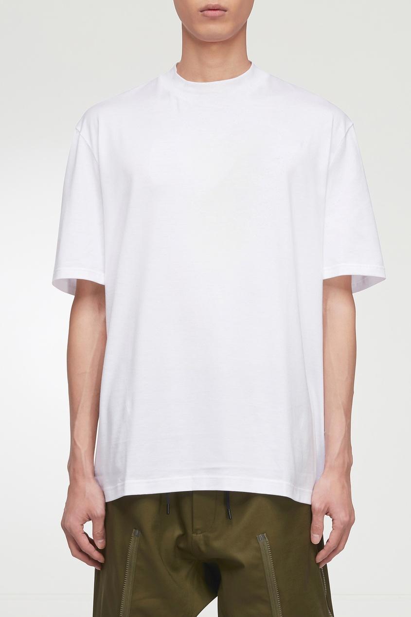 мужская футболка lanvin, белая