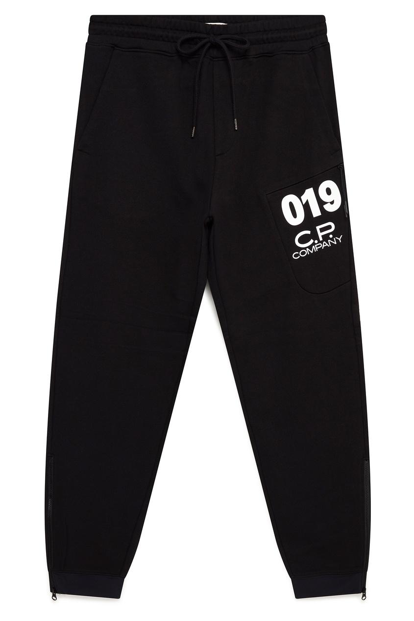 мужские брюки c.p. company, черные