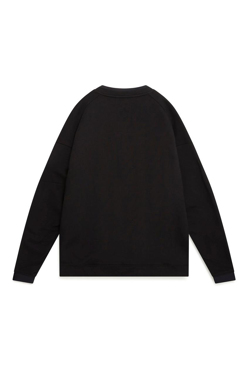 мужской свитшот c.p. company, черный