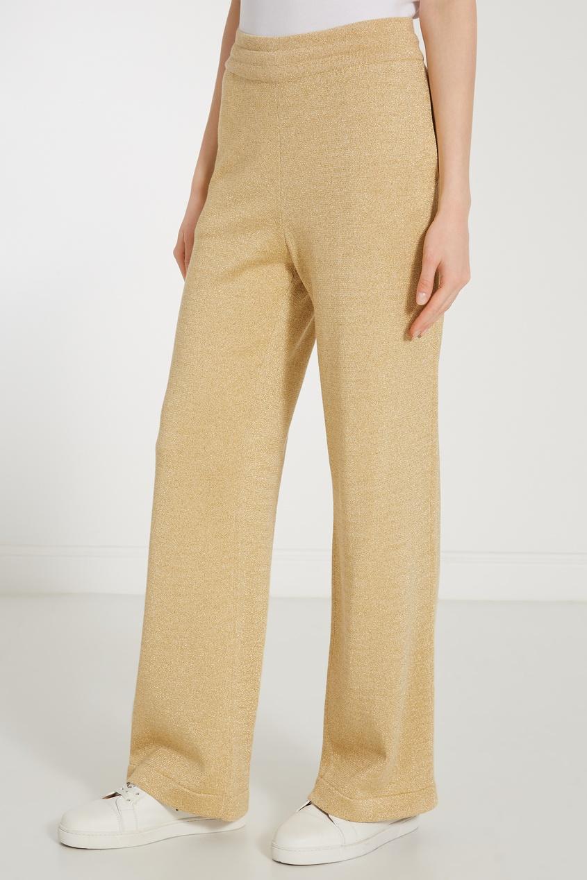женские спортивные брюки moncler, бежевые