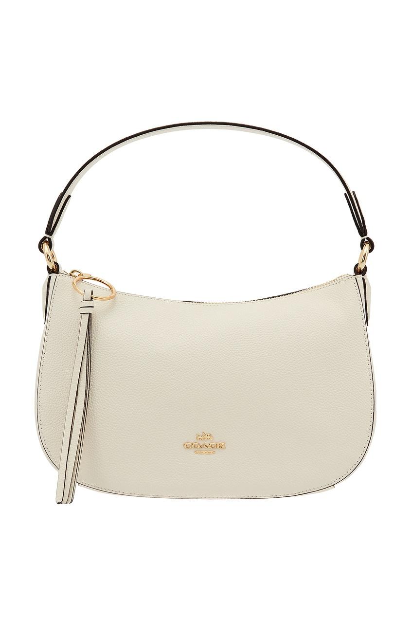 Белая сумка на плечо Sutton Coach