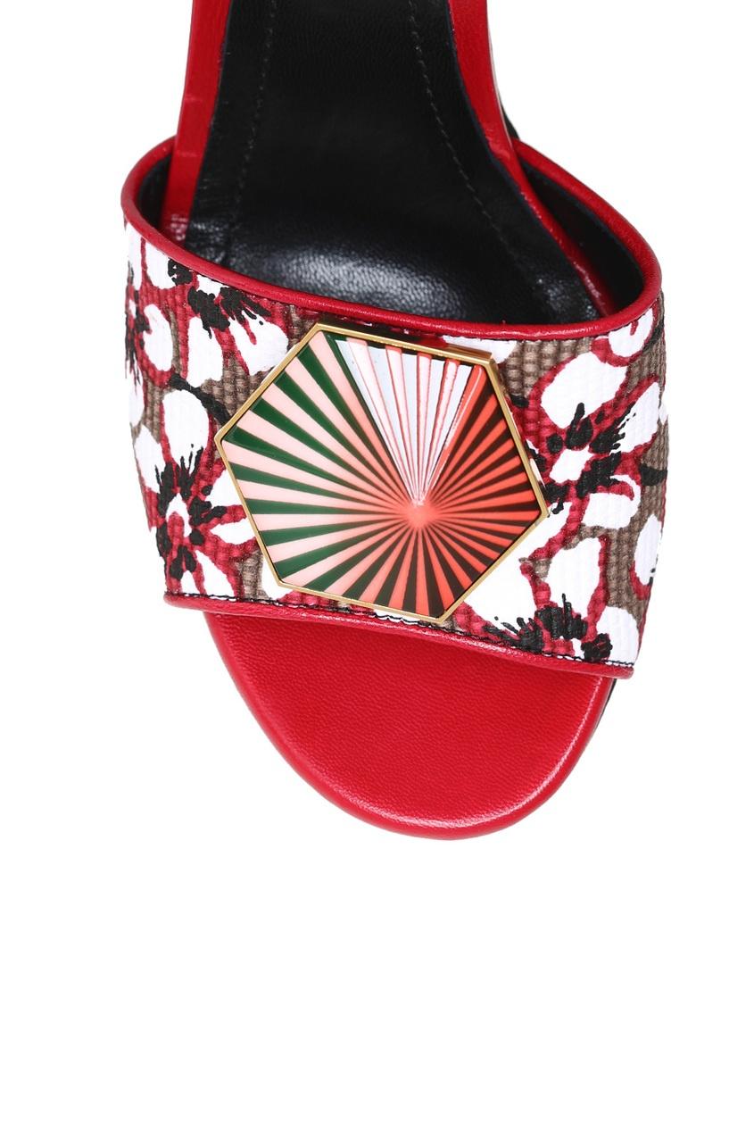 Nicholas Kirkwood Хлопковые босоножки на платформе кроссовки на платформе купить в донецке