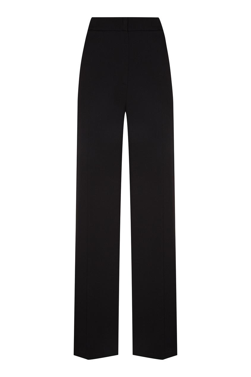 Черные брюки клеш MSGM