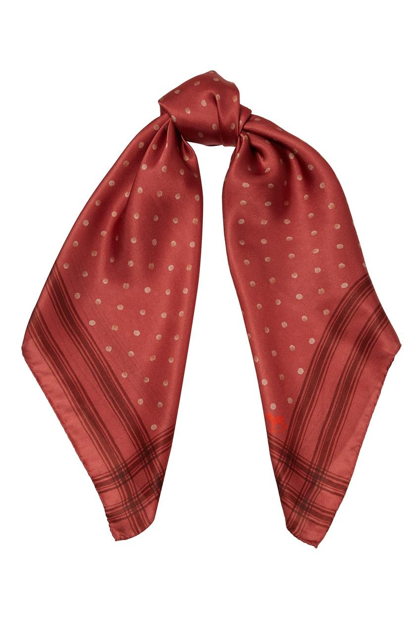 женский платок ulyana sergeenko, красный