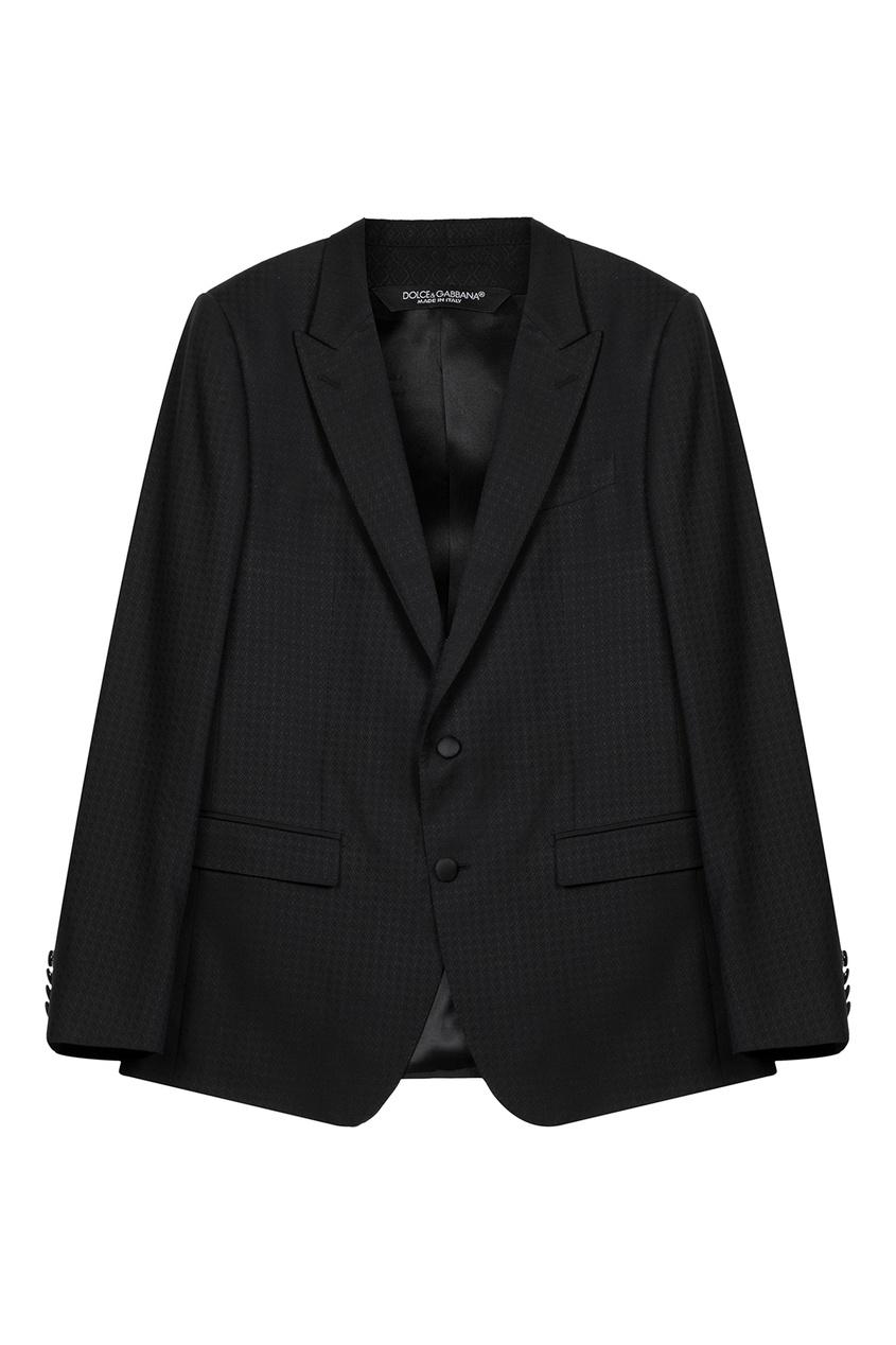 Костюм-двойка из фактурной ткани Dolce&Gabbana