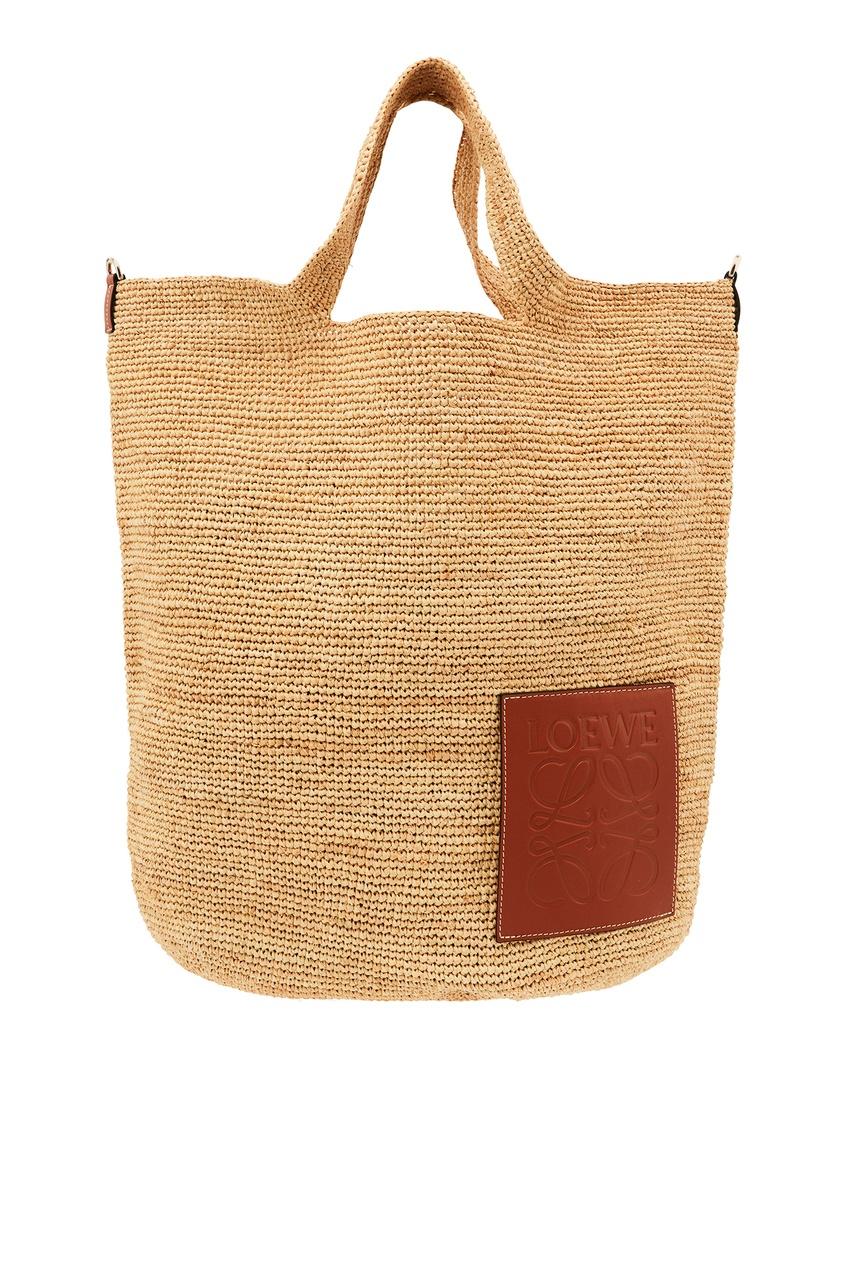 Объемная плетеная сумка Slit LOEWE
