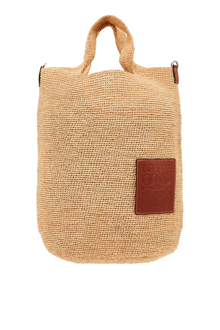 Комбинированная сумка-шоппер Slit LOEWE