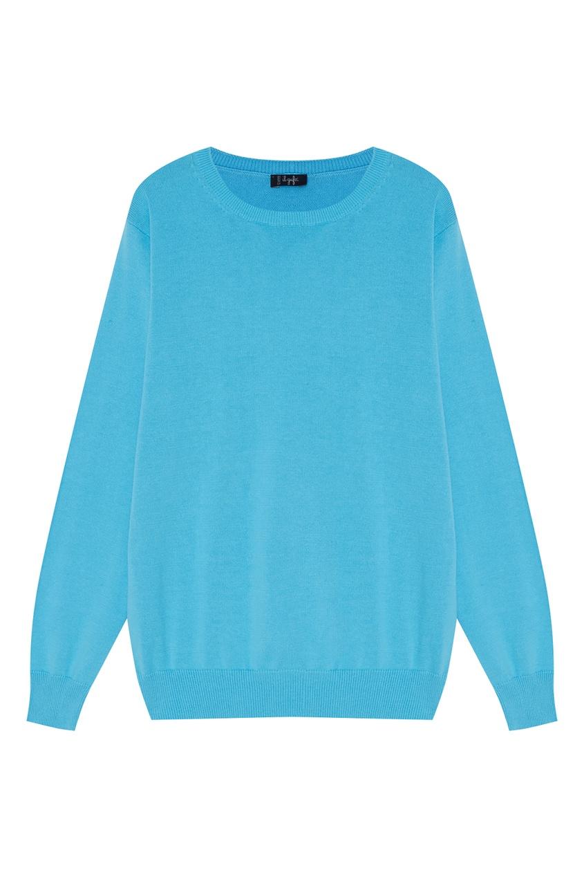 Купить Голубой джемпер голубого цвета