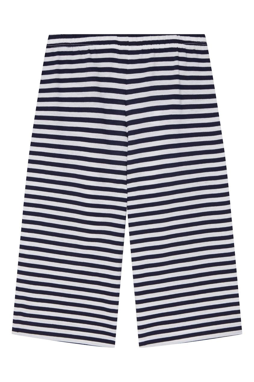 Купить Хлопковые брюки в полоску цвет multicolor