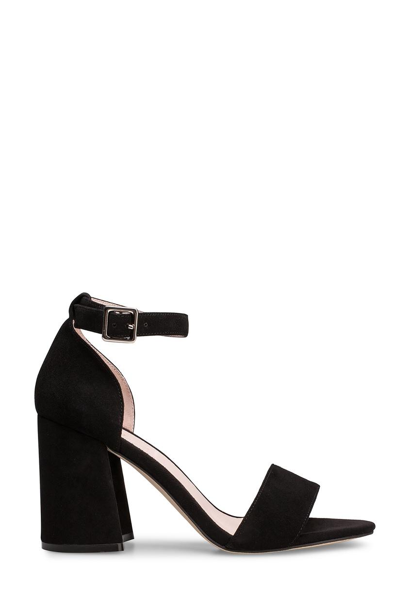 Черные босоножки с ремешком на щиколотке Portal