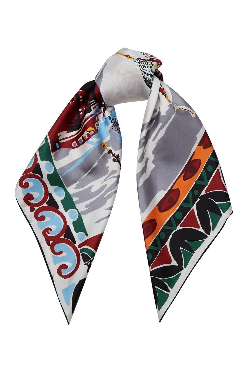 женский платок prada