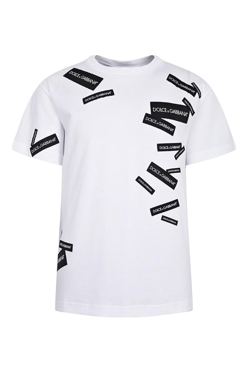 Белая футболка Dolce&Gabbana Children