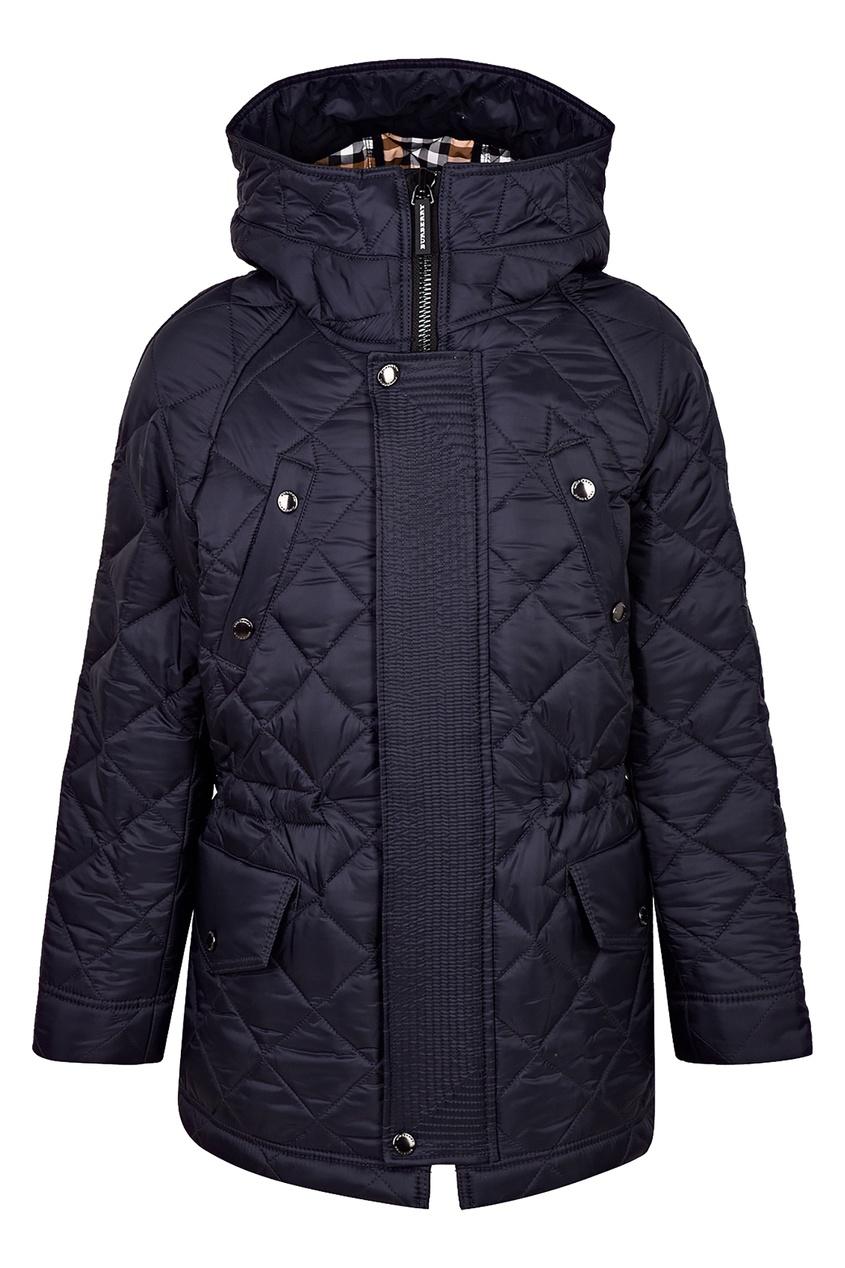 Купить Синяя куртка от Burberry Kids синего цвета
