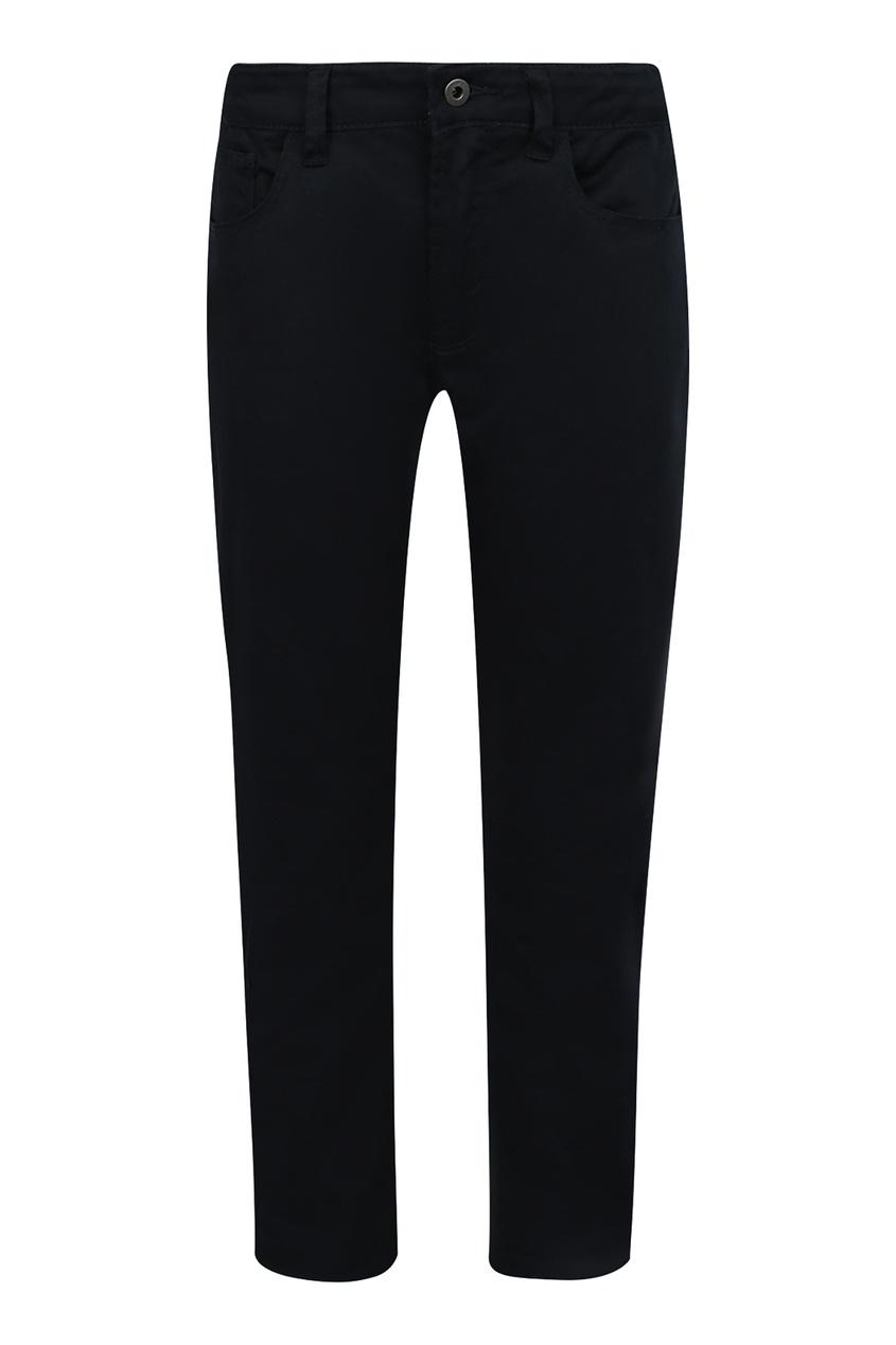 Купить Черный джинсы от Emporio Armani Kids синего цвета