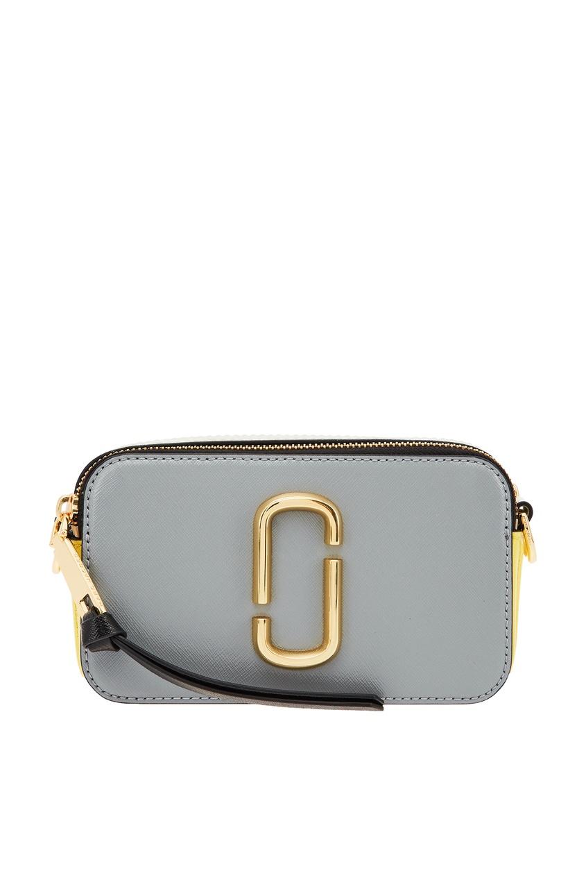 Серая сумка с логотипом Marc Jacobs