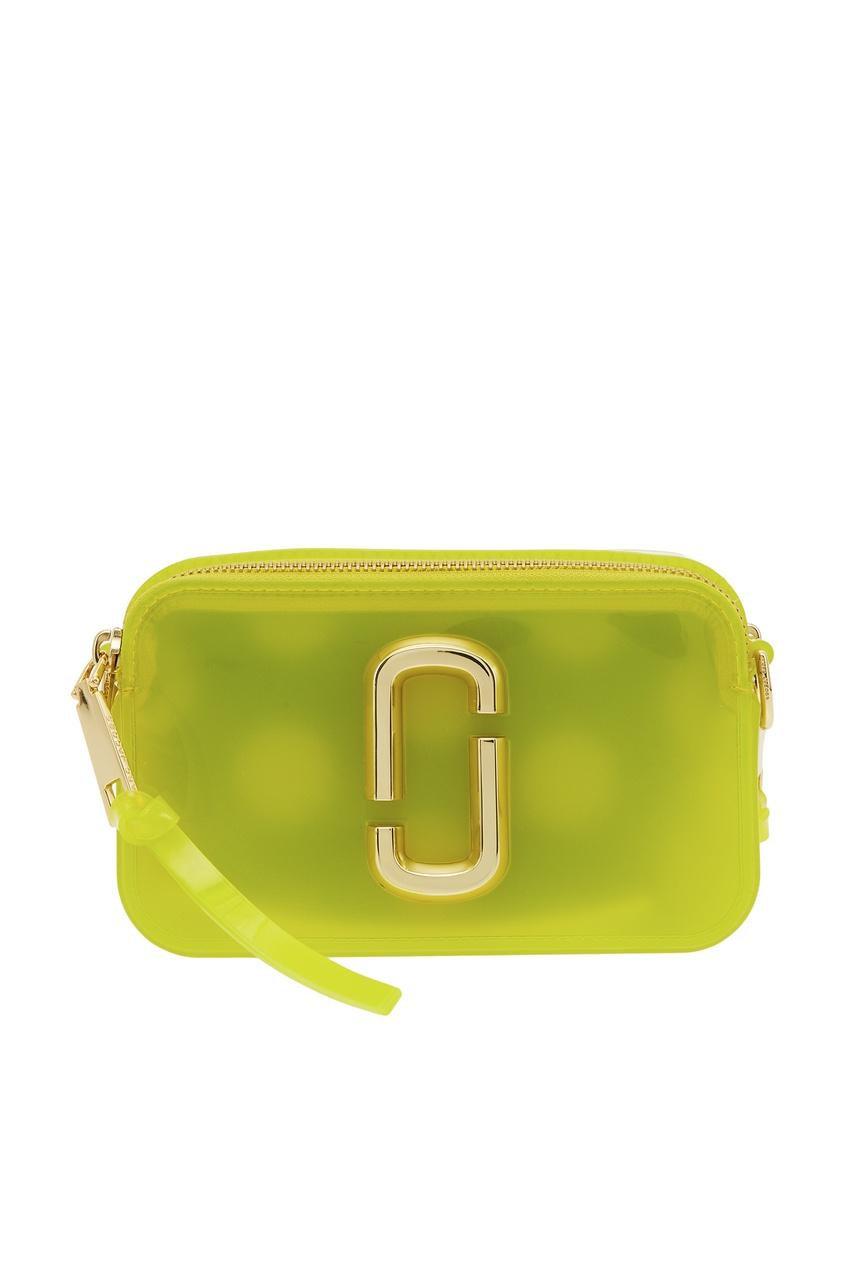 Желтая сумка с логотипом Marc Jacobs