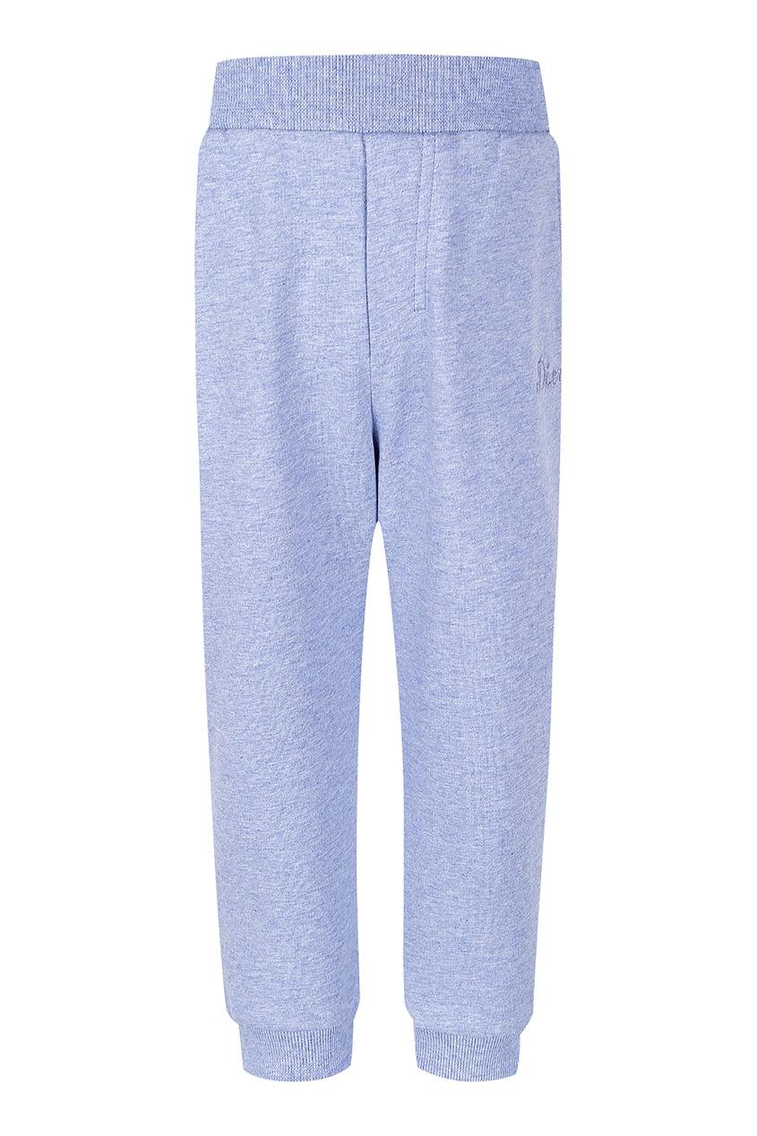 Купить Спортивные голубые брюки от Dior Kids голубого цвета