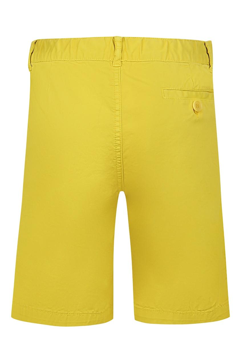 шорты il gufo, желтые