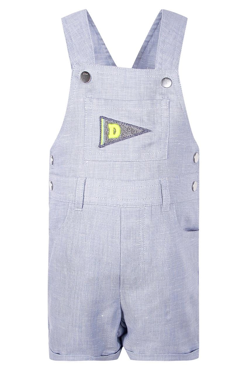 Комбинезон с карманом на груди от Dior Kids