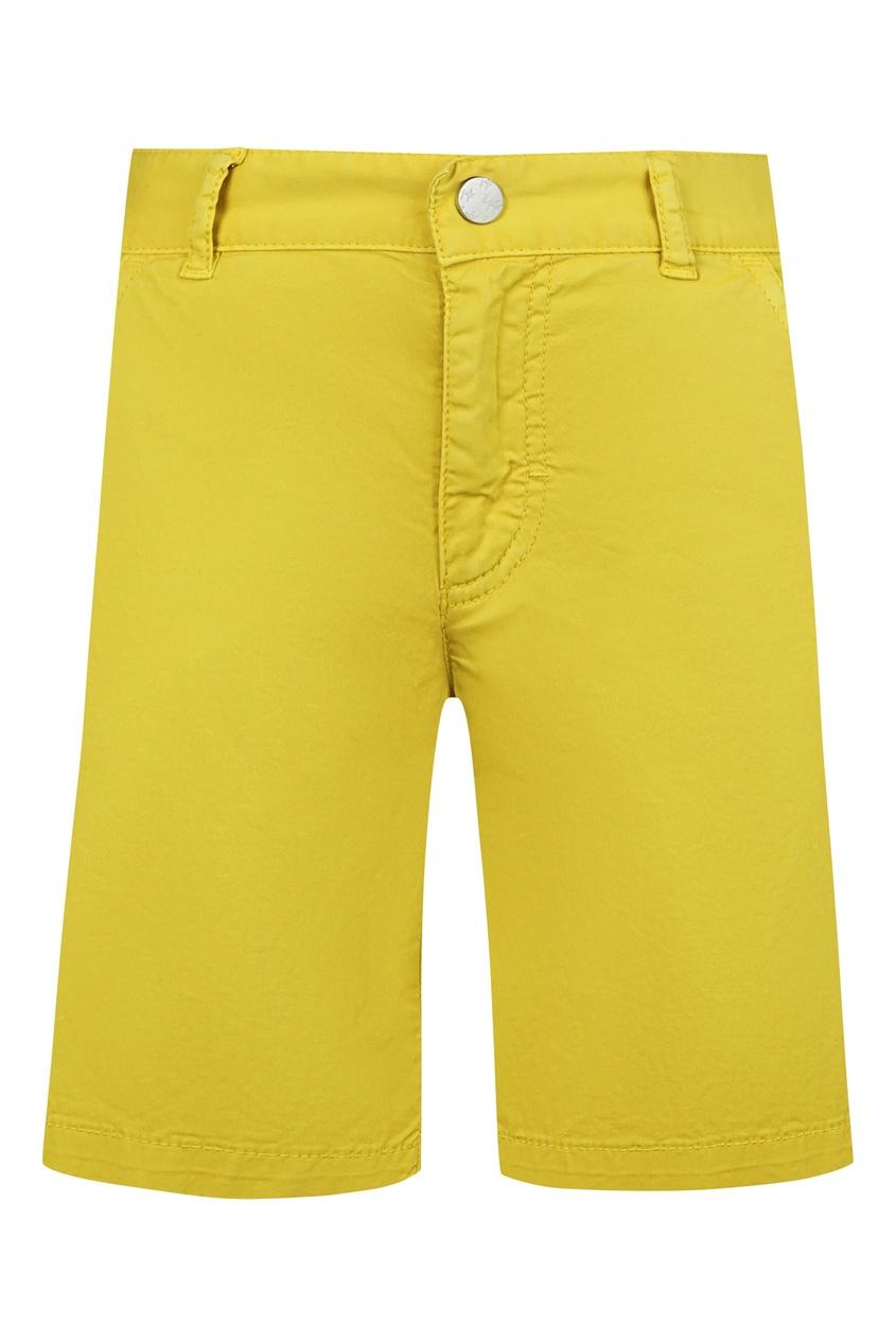 Шорты желтого цвета IL Gufo
