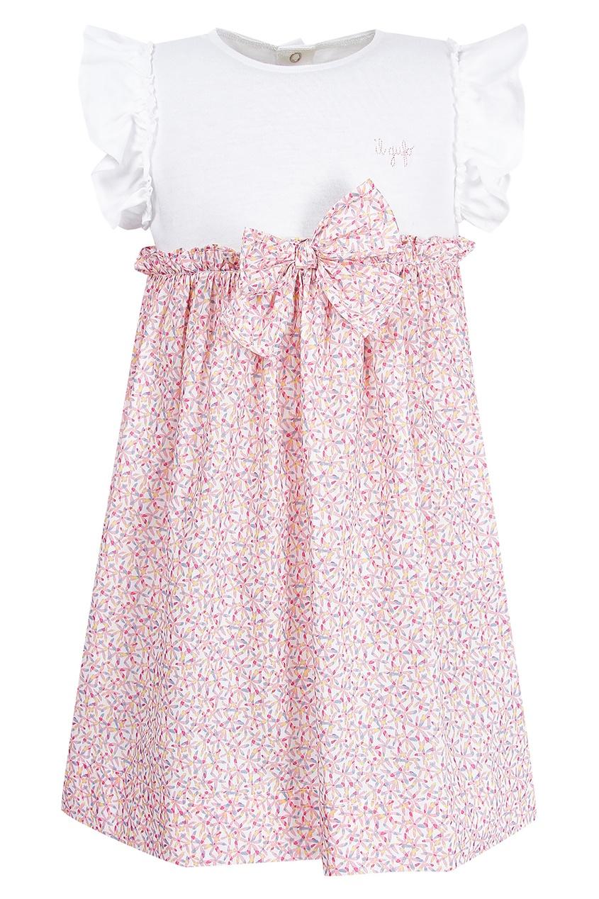 платье il gufo, розовое