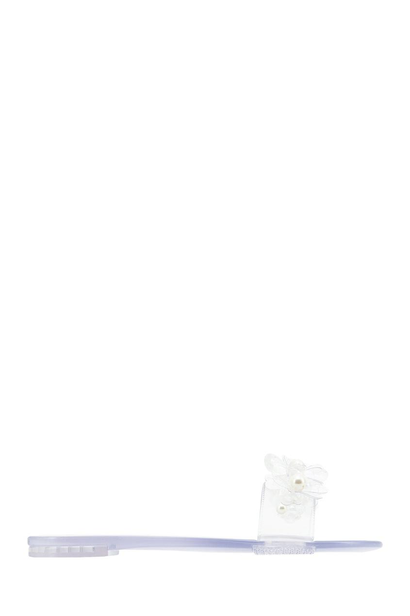 Полупрозрачные виниловые пантолеты с декором SIMONE ROCHA