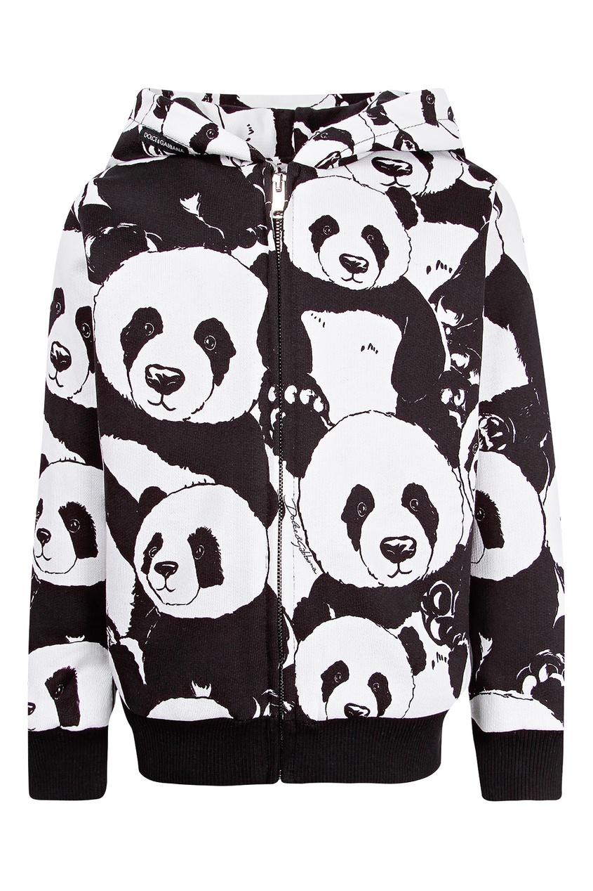 Купить Толстовку с пандами цвет multicolor